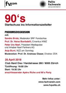 «90's – Startschuss ins Informationszeitalter» (20.04.2018)