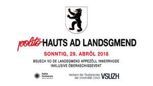 Rückblick: Polito hauts ad Landsgmend