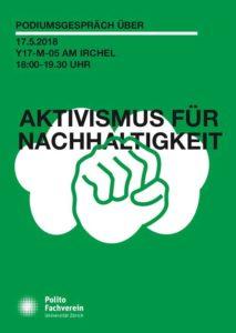 Podiumsgespräch: Aktivismus für Nachhaltigkeit