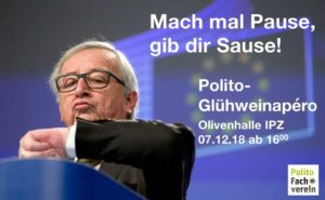 POLITO-Glühweinapero (Freitag, 7. Dezember 2018)