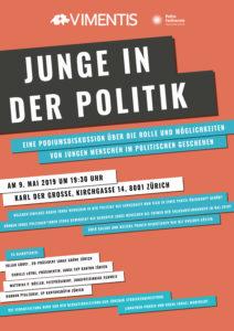 """Podiumsdiskussion """"Junge in der Politik"""""""