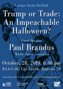 OecTalk: Trump or Trade: An Impeachable Halloween?