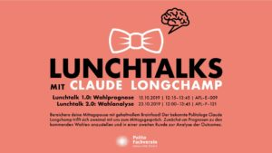 Lunchtalks mit Claude Longchamp
